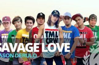 SAVAGE LOVE (Tiktok Hit) by Jason Derulo   Zumba   Pop   TML Crew Paulo and Kramer