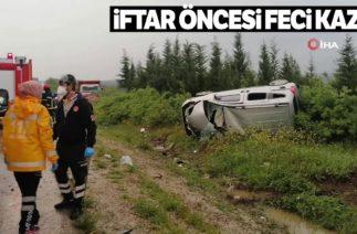 Soma-Savaştepe Karayolunda Trafik Kazası, 1 Ölü, 2 Yaralı