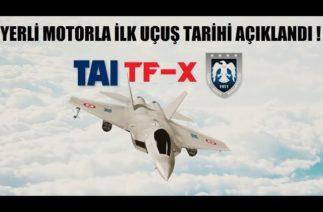 TF-X YERLİ MOTORLA UÇACAK ! TR MOTOR MÜDÜRÜ BEKLENEN TARİHİ AÇIKLADI !