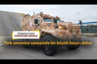 Türk savunma sanayinde bir büyük başarı daha!