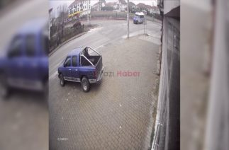 Yahyalı Caddesinde Trafik Kazası