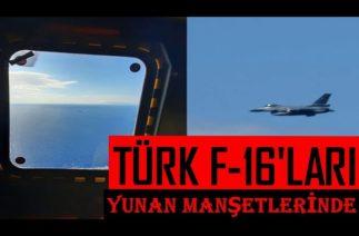 Yunan Savunma Bakanı ve Genelkurmay Başkanı'nı Takip Eden Türk F-16'ları, Yunanistan Medyasında