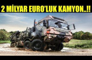 ALMANLARDAN 2 MİLYAR EURO'LUK KAMYON ALIMI..!!