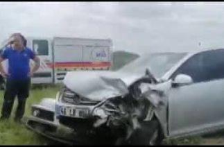 Bingöl – Diyarbakır yolunda trafik kazası: 8 yaralı