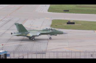 Boeing'in Block III Super Hornet savaş uçağının ilk uçuşu