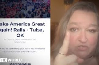 Did TikTok users troll Trump's Tulsa rally? | The World