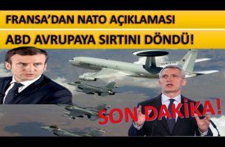 Fransada Macrondan Natoya Yönelik Açıklama Geldi!