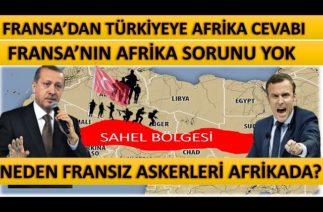 Fransadan Türkiyeye Afrikadaki As-ker-ler Açıklaması |Neden Afrikada Fransız As-ker-leri Var?