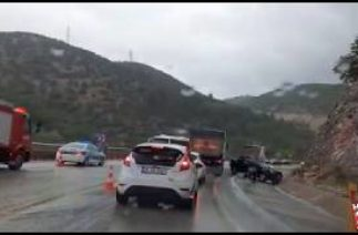 Gülümbe Rampalarında Zincirleme Trafik Kazası 5 Yaralı