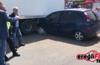 Karadeniz Ereğli Gülüç Beldesi Trafik Kazası
