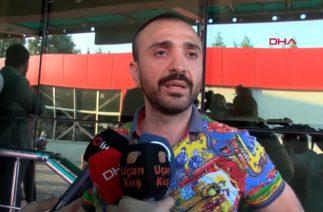 Kaza geçiren Alişan ve ailesini hastanede ziyarete gelen Demet Akalın ile eşi Okan Kurt'tan açıklama
