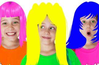 Komik Saç Stili Şarkısı | Fun Hair Styles Türkçe | Çocuk ve Bebek Şarkıları | Baa Bee TV