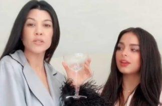 Kourtney Kardashian and Addison Rae Recreate ICONIC 'KUWTK' Scene on TikTok