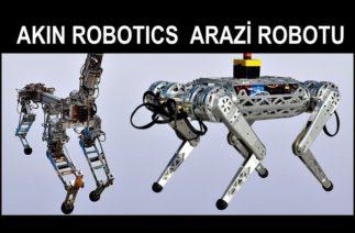 İLK ARAZİ ROBOTU AKIN ROBOTICS – Boston değil KONYA DYNAMICS – YERLİ SAVUNMA SANAYİ