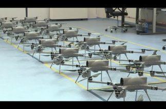 Ostim Teknopark'taki Kamikaze İHA üretimi
