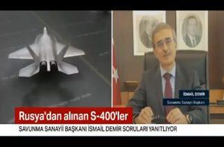 SSB Başkanı İsmail Demir'den S-400 açıklaması