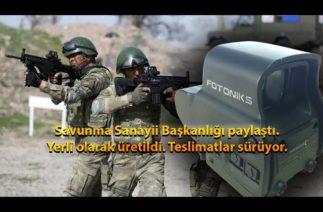 Savunma Sanayi Başkanlığı paylaştı: Yerli olarak üretildi! Teslimatlar sürüyor!