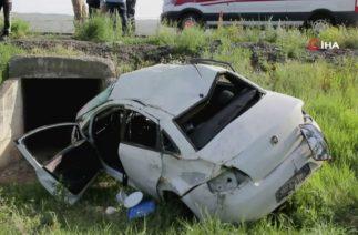 Sivas'ın Zara İlçesi Canova Köyü Yakınlarının Trafik Kazası, 2 Ölü