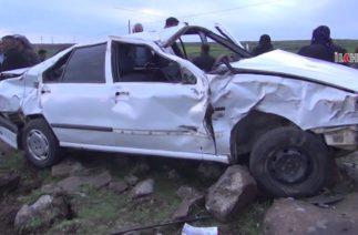Siverek'te trafik kazası Bir ölü, bir yaralı