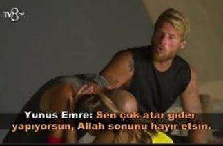 Survivor2020 Yunus Emre Özden komik sahneler Semih Öztürk Cemal Can Ardahan Evrim Barış Murat Yagcı