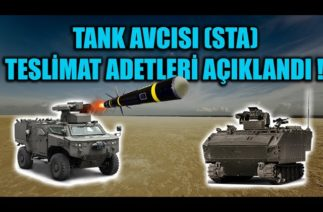 TANK AVCISI SİLAH TAŞIYICI ARAÇ (STA) TESLİMAT ADETLERİ AÇIKLANDI !!