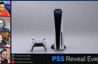 THE BOX! PlayStation 5 Hardware Kinda Funny Live Reactions