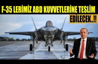TÜRK F-35 LERİ TESLİM EDİLMEYECEK…!!!