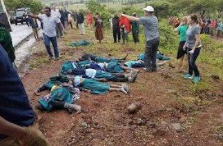 Tanzanya'da trafik kazasında 35 kişi hayatını kaybetti