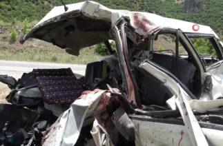 Tatil yolunda feci kaza: 6 ölü