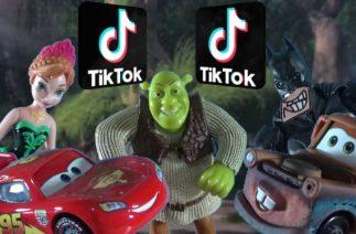 TikTok – Recopilación (Frozen, Cars, Shrek, Batman)
