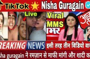 TikTok Star Nisha Guragain Viral MMS Video Reality | Nisha Guragain