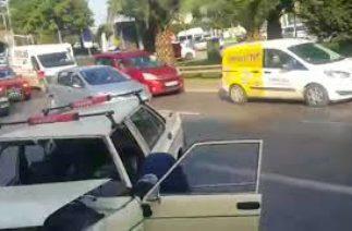 Trabzon Çömlekçi'de trafik kazası