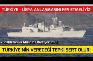 Türkiye'nin Anlaşmasını Fes Etmeliyiz