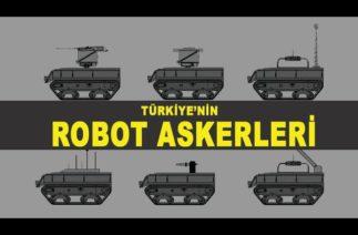 Türkiye'nin robot sürüsü ortaya çıkıyor