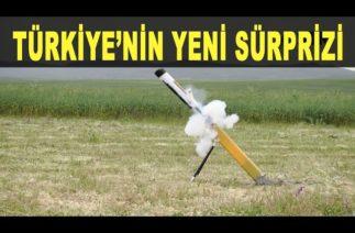 Türkiye'nin yeni kamikazesi Alpagu göreve hazır