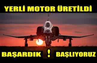 YERLİ-MİLLİ MOTOR ÜRETİLDİ, BAŞARDIK..!!! SAHADA..!!!