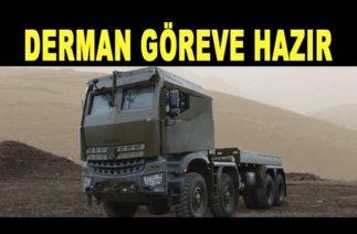 Zırhlı araç Derman testi geçti / Armored vehicle Derman is ready for mission