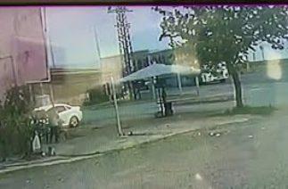 Ünye'deki Kaza Güvenlik Kameralarına Yansıdı