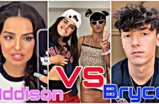 Addison Rae VS Bryce Hall TikTok Compilation 2020 || @Addison Rae @Bryce Hall