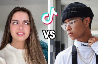 Addison Rae VS Michael Le Dance Battle | TikTok Compilation (August 2020)