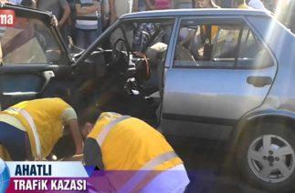 Ahatlı Trafik Kazası
