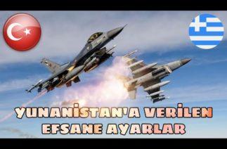 Biz Hazırız Yunanistan! Yunanistan'a Verilen Efsane Ayarlar! Türk Ordusu