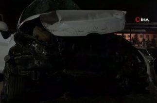 Bursa'da Trafik Kazası, Kontrolden Çıkan Araç Kaza Yaptı: 3 Ölü 1 Ağır Yaralı