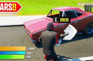 CARS in Fortnite Soon… 🚓 🔴LIVE🔴 (New Gameplay Update)