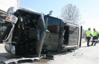 Denizli'de Akıllara Durgunluk Veren Trafik Kazası