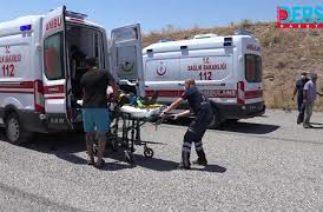 Elazığ karayolunda kaza: 1 ölü, 5'i ağır 17 yaralı