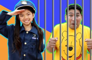 Emma Pretend Play Funny Police Jail Story for Kids | Kids Have Fun Following Rules