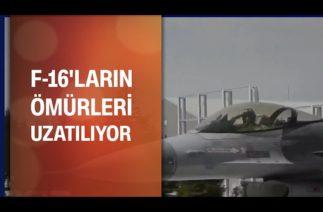 F-16 Blok-30 uçaklarının Ömürleri uzatılıyor