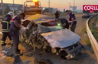 Feci Kazada 2 Kişi öldü 1 kişi yaralandı