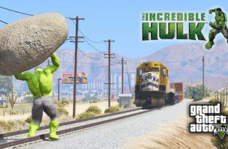 HULK MOD In GTA 5 Funny Moment – GTA V Gameplay